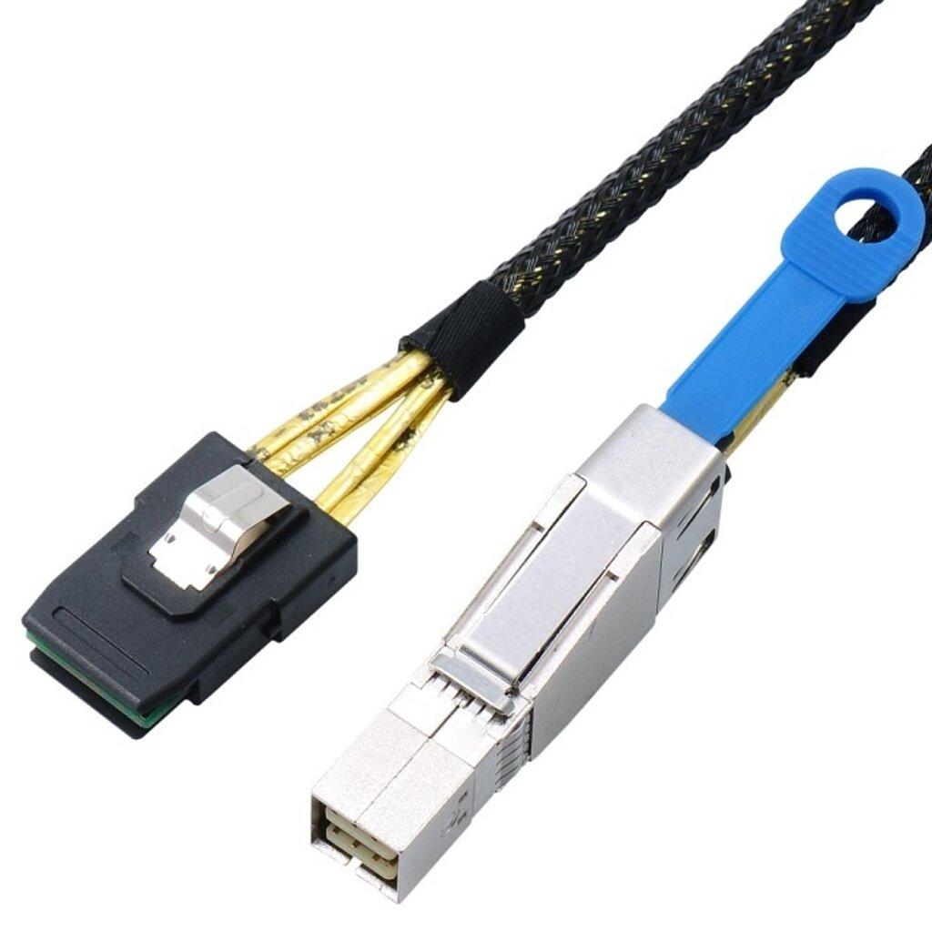 Externes SAS HD Kabel, SFF8644 auf SFF8087 (36-Pin)