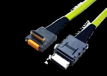 Internes OCuLink Kabel, SFF8611 auf SFF8611 90°