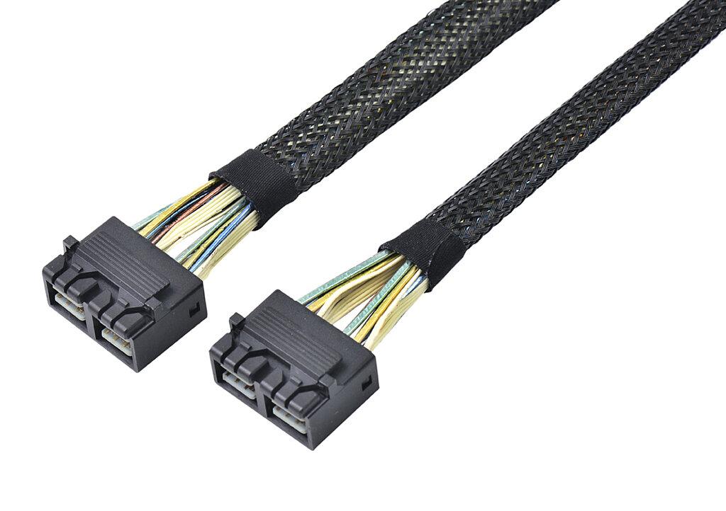 Internes SAS HD Kabel, SFF8643 8i auf SFF8643 8i