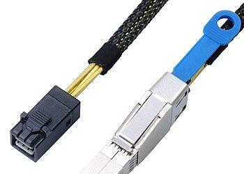 Internes SAS HD Kabel, SFF8643 auf SFF8644