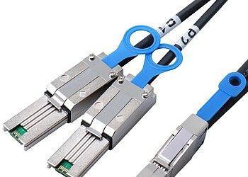 Externes SAS HD Kabel, SFF8644 auf SFF8088*2