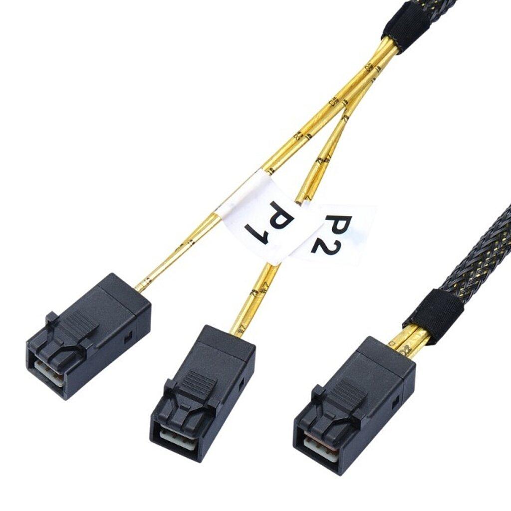Internes SAS HD Kabel, SFF8643 auf SFF8643 2-fach
